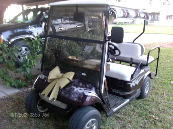 GOLF CART EZGO 4 SEATER, OUTSTANDING - $2100