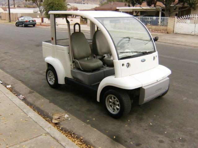 Golf Cart Ford Think Pickup Electric Vehicle Utility Cart