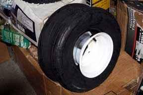 Golf Cart & Tractor Replacement Tire 18 x 8.50 x 8 -