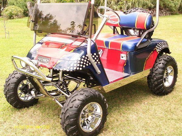 golf cart custom ezgo gas kemah for sale in houston