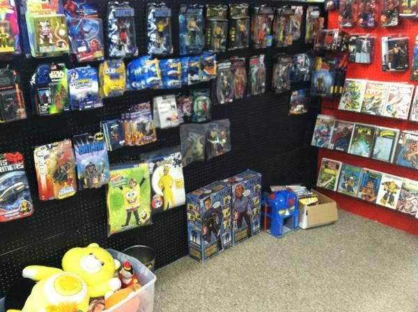 Goliath_Customs Toy Shop Marvel DC Horror Figures SNES NES Games - $1