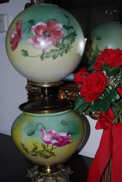 Gone With The Wind Lamp W Signature For Sale In Rancho