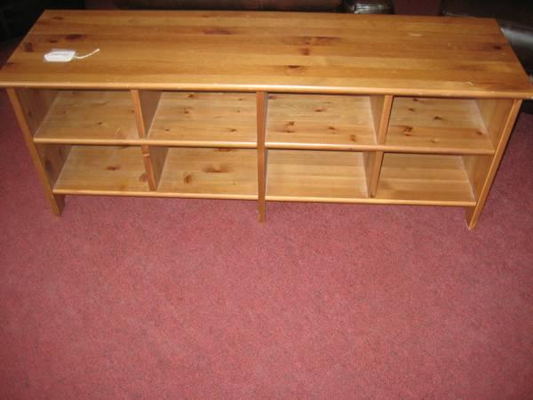 Good Ikea Wooden Table With Storage For Sale In