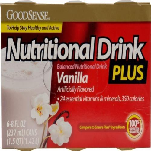 Good Sense Nutritional Drink Plus Vanilla Case Pack 24
