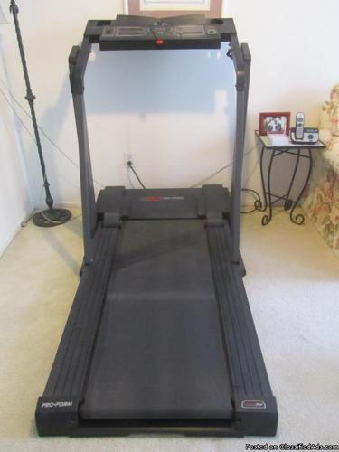 pro form 585 low profile treadmill classifieds buy sell pro form rh americanlisted com Proform J8 Treadmill Review Proform Treadmill Motor Belts
