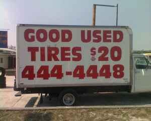 Good used Tires - $20 (Atlantic&Arlington)