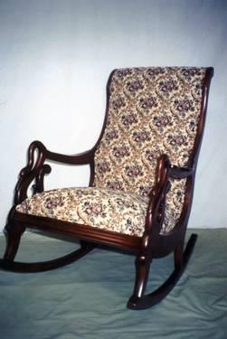 Incredible Goose Neck Rocking Chair For Sale In Stem North Carolina Ibusinesslaw Wood Chair Design Ideas Ibusinesslaworg