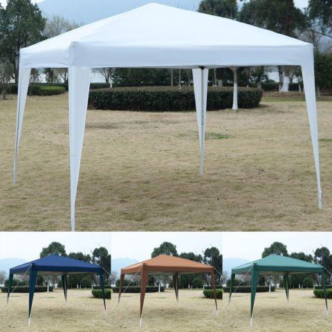 GOPLUS 10'X10'EZ POP UP Canopy Tent Gazebo Party Carry