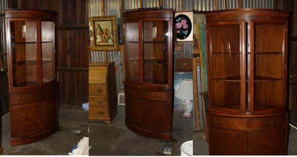 Gorgeous Corner Cabinet Hutch For Sale In Orland
