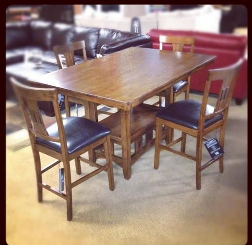 Gorgeous Counter Height Dinette Dining Set By Ashley Metro Area For Sale In Denver