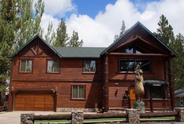 Gorgeous lakefront property big bear lake ca for Big bear lakefront cabin rentals