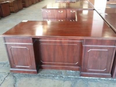 Gorgeous Office Set Includes Matching L Shape Desk And