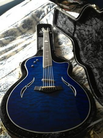 Gorgeous Taylor Custom T5-C1 w case - $2800