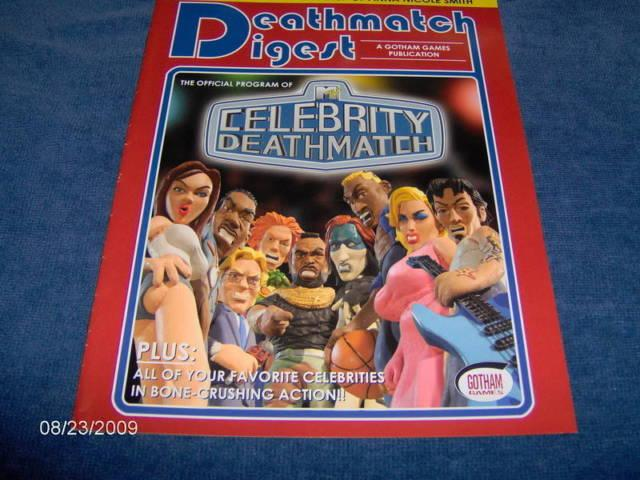 GOTHAM GAMES....CELEBRITY DEATHMATCH ...OFFICIAL