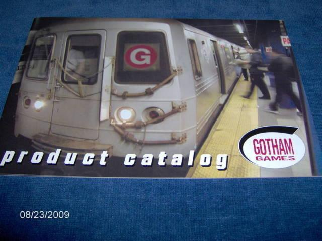 GOTHAM GAMES Product Catalog