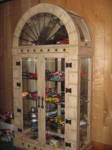 Gothic Curio Cabinet 450 Lenoir