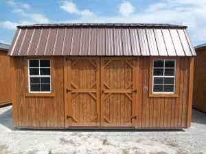 Graceland 10'x16' Side Lofted Barn Down Month No Credit ...