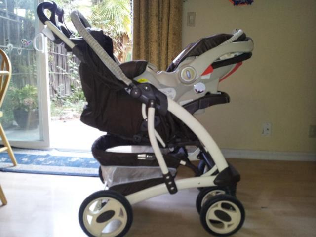 **Graco Baby Stroller, travel system (with infant car