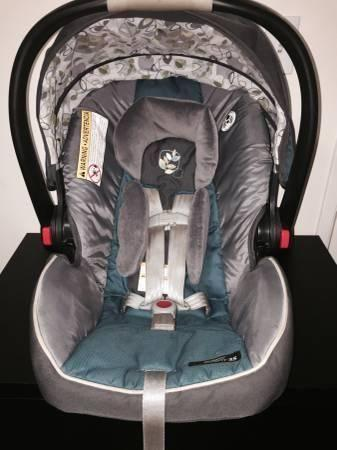 Graco Click Connect Snugride 35 ~ Caraway patterned infant car seat ...
