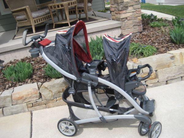 Graco double stroller - $95 Missoula