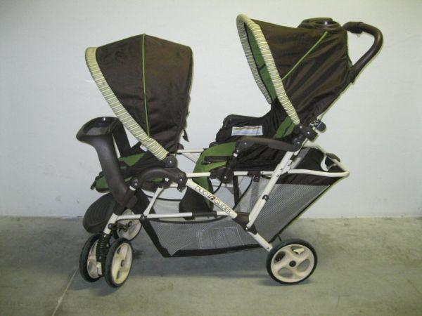Graco Duo Glider Duo Stroller Neutral Colors 70 Lakewood Ranch Fl