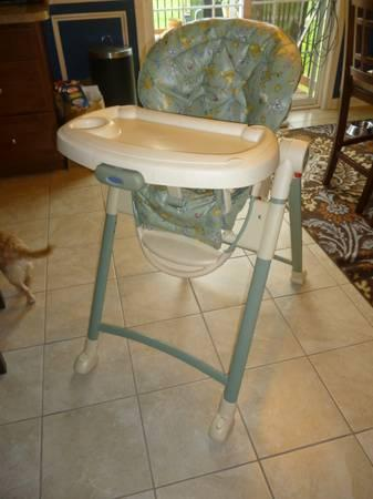 Graco Highchair High Chair For Baby Jungle Animal