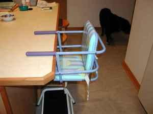 GRACO Hook On High Chair   $25 (lawrence)
