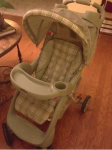 Graco Infant Car Seat And Matching Stroller