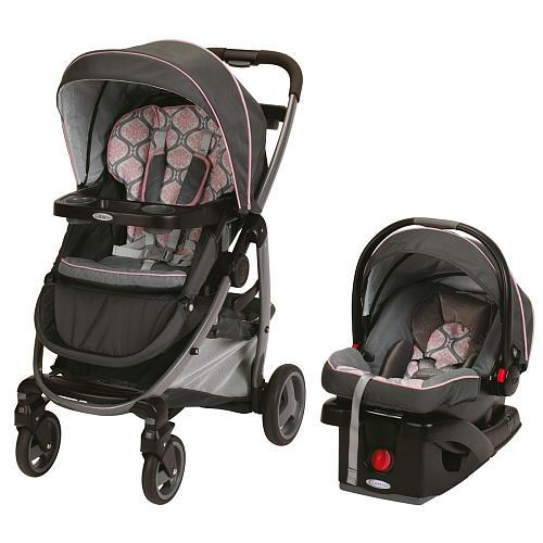 Graco modes click connect travel system stroller francesca for sale