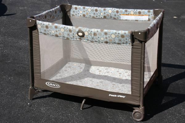 Graco Pack N Play Playard with Bassinet - $40