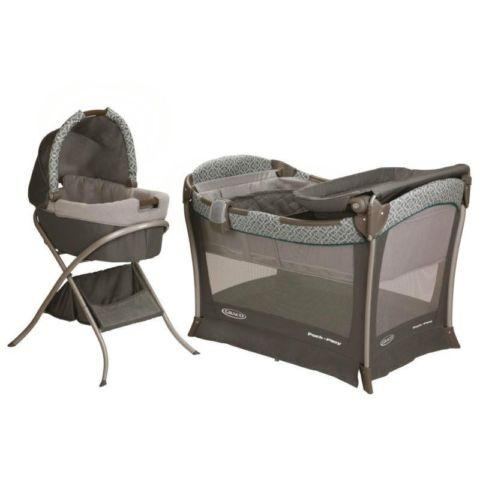 Graco Pack n play with bassinet and changing table for ...