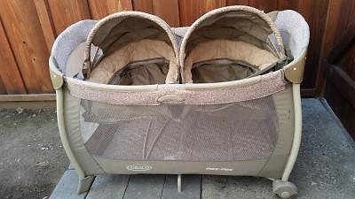 Graco Pack N Play With Twin Bassinet For Sale In Santa