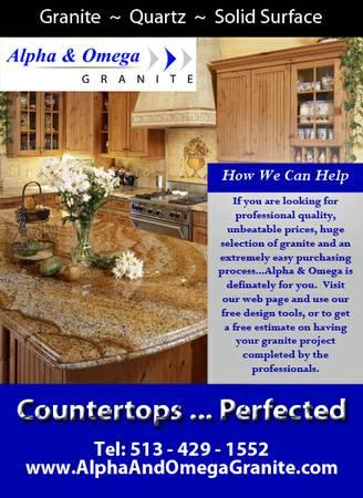 Granite Countertop Sale   Only $35/FT Installed   $35