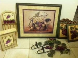 ... Grape Wall Decor For Kitchen By Grape Kitchen Decor Lemoore For Sale In  Hanford