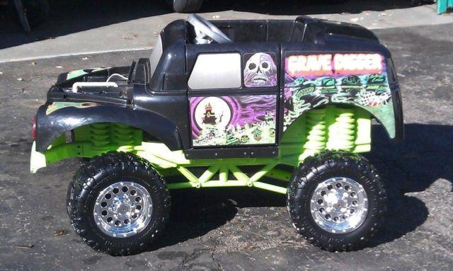 Grave Digger Power Wheel For Sale In Indianapolis Indiana