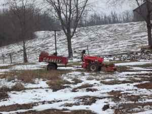 Gravely two wheel tractor - $1000 (Philpot)