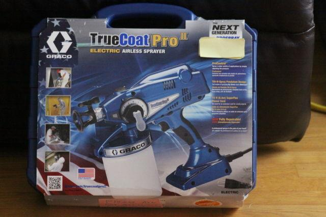 GRAYCO TRUCOAT PRO II Electric Paint Sprayer Pro 2 16N673