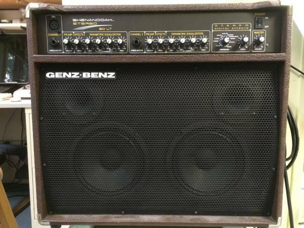 great acoustic amp Genz-Benz Shenandoah 80LT - $495