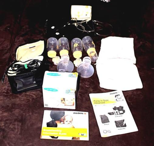 GREAT DEAL PERFECT CONDITION MADELLA BREAST PUMP