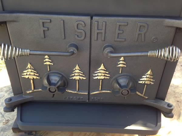 Fisher grandma bear wood burning stove for sale in Mendocino, California - Great Heat! Fisher Grandma Bear Wood Burning Stove!! For Sale In