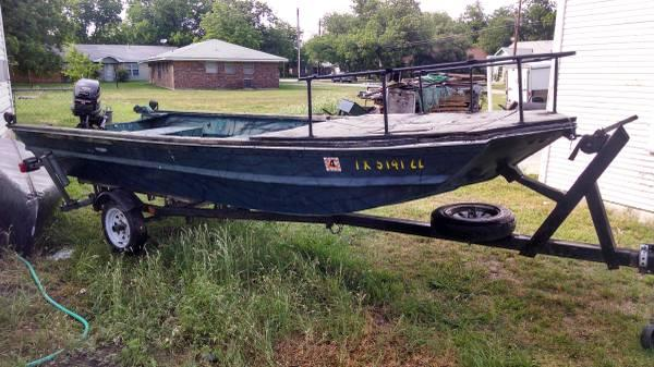 Great little fishing boat for sale in clifton texas for Fishing boats for sale in texas