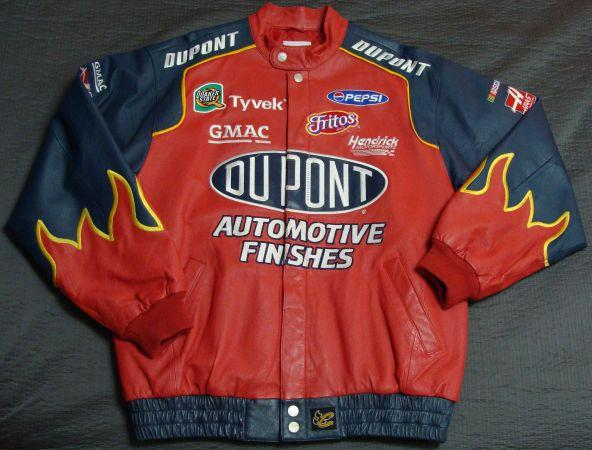Great Looking Jeff Gordon Leather Jacket - $60 Meridian