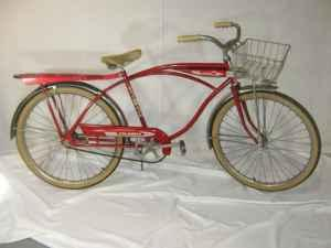 Great Vintage Red Columbia Bicycle Elkhorn Omaha For