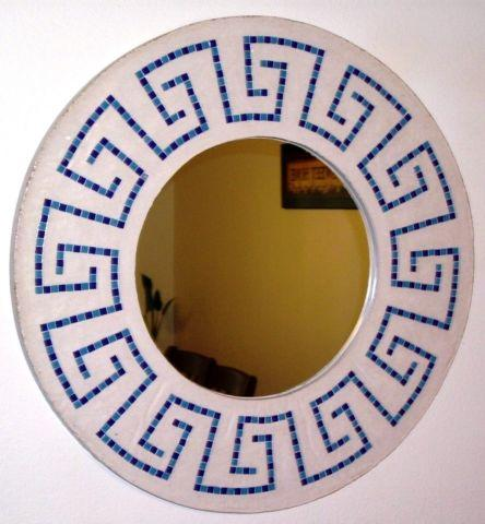GREEK-KEY CAST-STONE MIRROR, ADDITIONAL DESIGNS