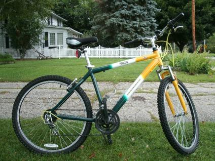 Bikes Green Bay Wis Green Bay Packer bicycle