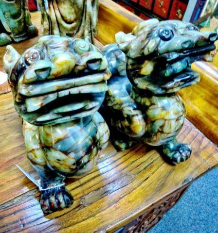 Green Jade Chinese Dragon Statue Sale