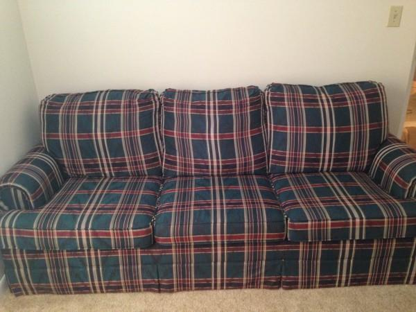 Plaid sofa cabinets matttroy - Plaid para sofa ...