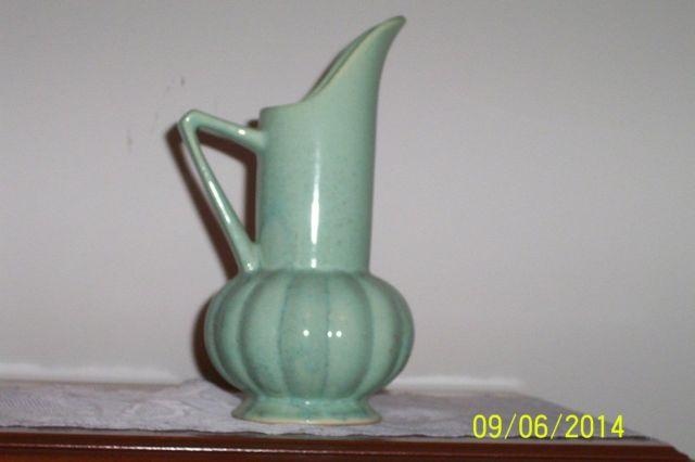 Green Vase 9 12 Tall By Brush Uss For Sale In Hartford Alabama