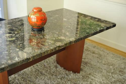 Green Verde Marianacea Granite Table Top Imported From Brazil