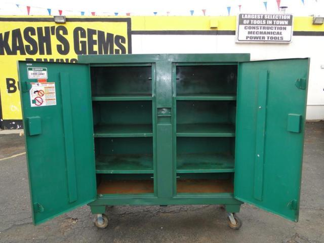 GREENLEE 5660L 56 x 60 x 24 2 Door Cabinet Tool Gang Box